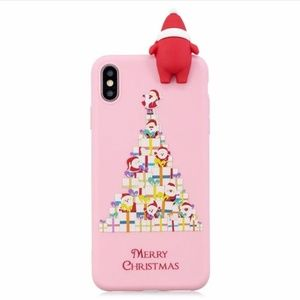 Accessories - NEW iPhone 6/6S/7/8 Pink 3D Santa Case